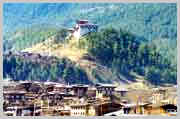 Jakar is the capital town of Bumthang.