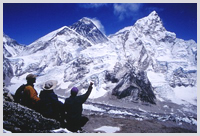Everest view from Kalapattar.